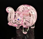 Pink Elephant Glass Pipes